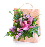 Bright flower bouquet Royalty Free Stock Photos