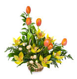 Bright flower bouquet Stock Photography