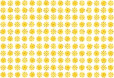 Bright flowers pattern Stock Images