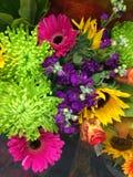 Bright Flowers Stock Photo