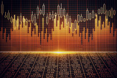 Bright forex background Royalty Free Stock Photo