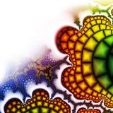 Bright fractal Stock Photo