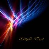 Bright fractal Stock Image