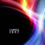 Bright fractal template Royalty Free Stock Photography