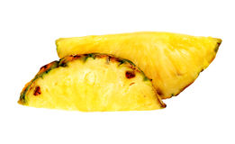Bright and fresh pineapple slices Royalty Free Stock Photos