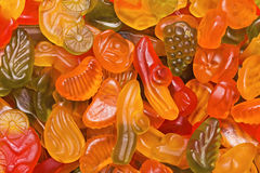 Bright fruit candy Stock Image
