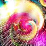 Bright futuristic background. A bright futuristic background design Royalty Free Illustration