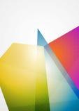 Bright futuristic hi-tech background Stock Photo