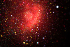 Bright galaxy. Stock Photos