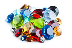 Bright gems Stock Photo