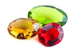 Bright gems Stock Photo
