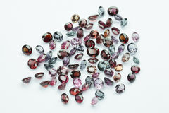 Bright gems Stock Image