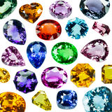 Bright gems Royalty Free Stock Images