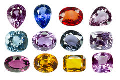 Bright gems Stock Photography