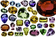 Bright gems Royalty Free Stock Photo