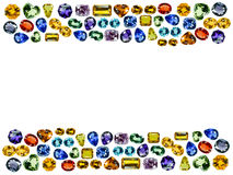 Bright gems Stock Images