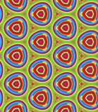 Bright Geometric pattern in repeat. Fabric print. Seamless background, mosaic ornament, ethnic style. Design for prints on fabrics, textile, surface, paper stock illustration
