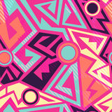 Bright geometric pattern Stock Images