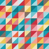 Bright geometric pattern Royalty Free Stock Photography
