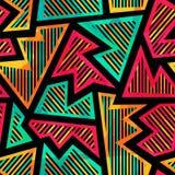 Bright geometric seamless pattern Stock Photography
