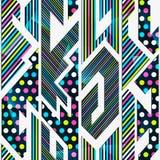 Bright geometric seamless pattern Royalty Free Stock Photography