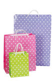Bright gift bags Stock Photos