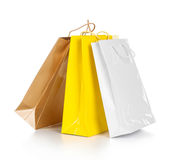 Bright gift bags Stock Image
