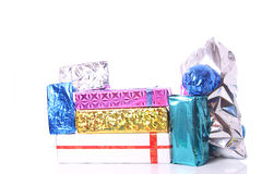 Bright gifts Royalty Free Stock Photography