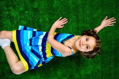 Bright girl Royalty Free Stock Photography