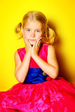 Bright girl Royalty Free Stock Images