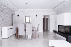 Bright gleaming residence Royalty Free Stock Photo