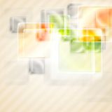 Bright glossy squares background Royalty Free Stock Image