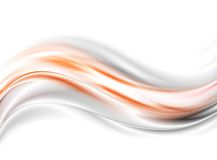 Bright glow waves vector background Royalty Free Stock Photography