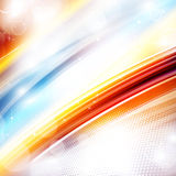 Bright glowing background Royalty Free Stock Photos