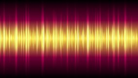 Bright glowing tech waveform equalizer video animation stock video