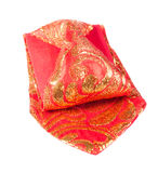 Bright Gold-Cloth Tie Stock Images