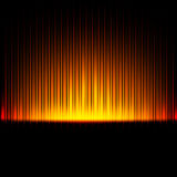 Bright golden abstract background Stock Photos