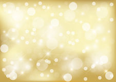 Bright golden dot background Stock Image