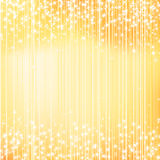 Bright golden holiday background with stars Royalty Free Stock Photo