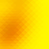 Bright golden yellow rows of triangles background, square Royalty Free Stock Photos