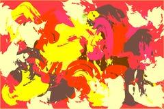 Bright gouache painted texture vector illustration