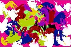 Bright gouache painted texture stock illustration