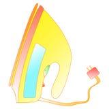 Bright gradient smoothing iron. Stock Photos