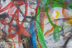 Bright Graffiti background. Art collection Royalty Free Stock Photo