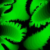 Bright green abstract background for a design Stock Image