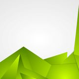 Bright green abstract background design Stock Photography