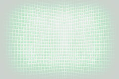Bright green abstract checkered string wave background Stock Image