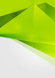 Bright green abstract flyer design Royalty Free Stock Image