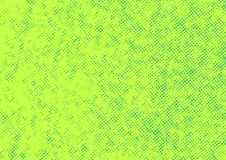 Bright green abstract halftone polka dot retro style background. Vector illustration stock illustration