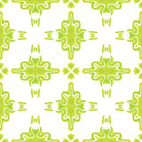 Bright green abstract seamless pattern Stock Photos